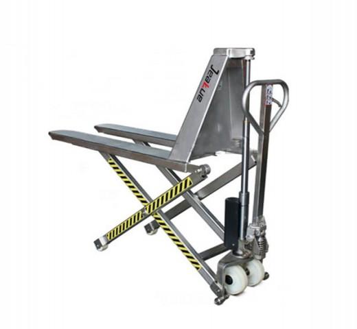 不锈钢剪式升高搬运车
