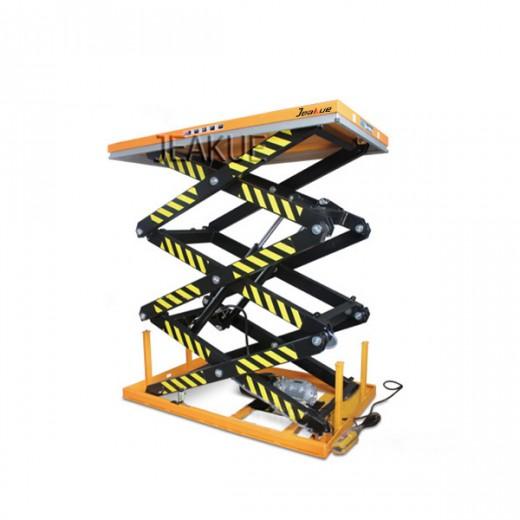 三剪固定电动升降平台