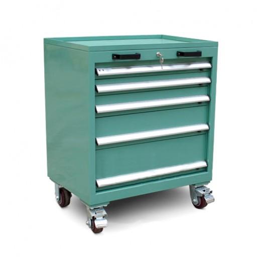 钢板工具车(5层抽屉)