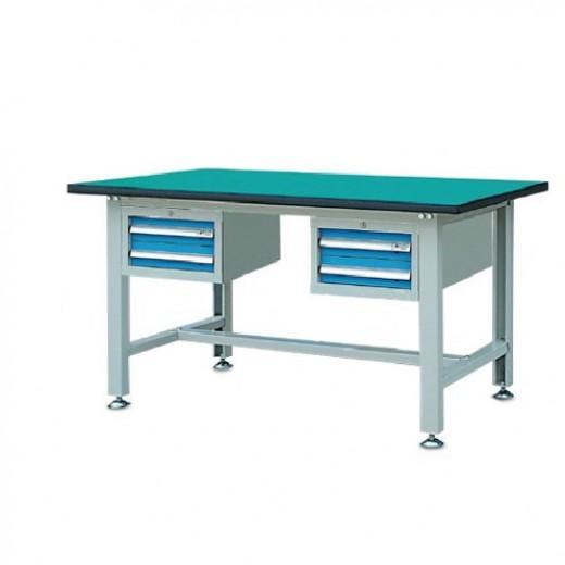 双吊柜轻型工作桌
