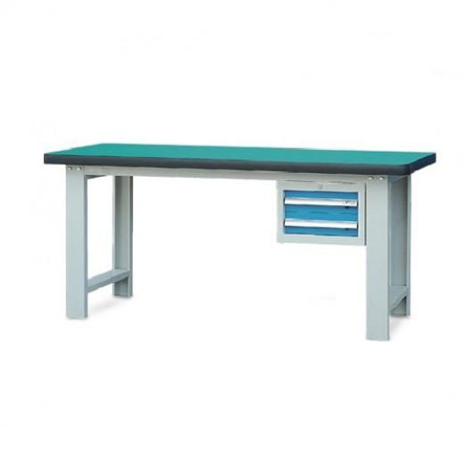 单吊柜重型工作桌