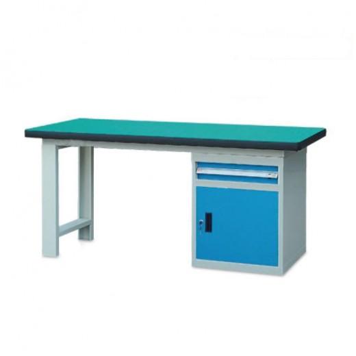 单侧柜重型工作桌