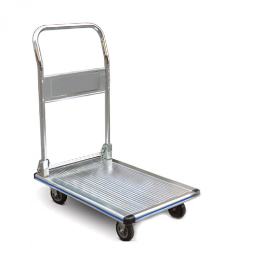 可折叠铝制平板推车